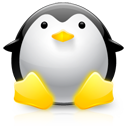 Dicker Linux-Pinguin